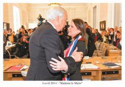 Johanna Rolland 135 ème maire de Nantes