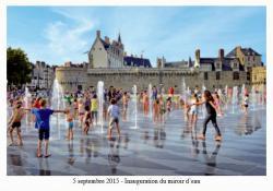 5 septembre 2015 - Inauguration du miroir d' eau